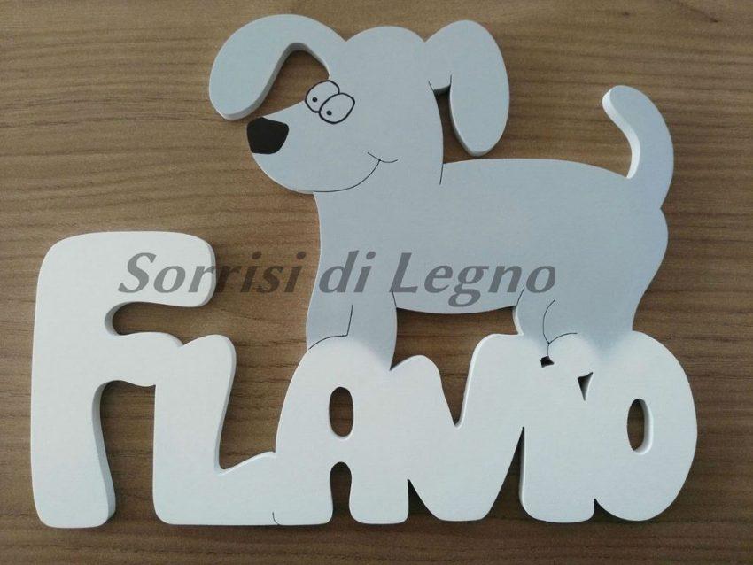 Nome-Flavio-con-cagnolino