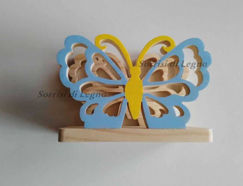Farfalla porta tovaglioli colorata