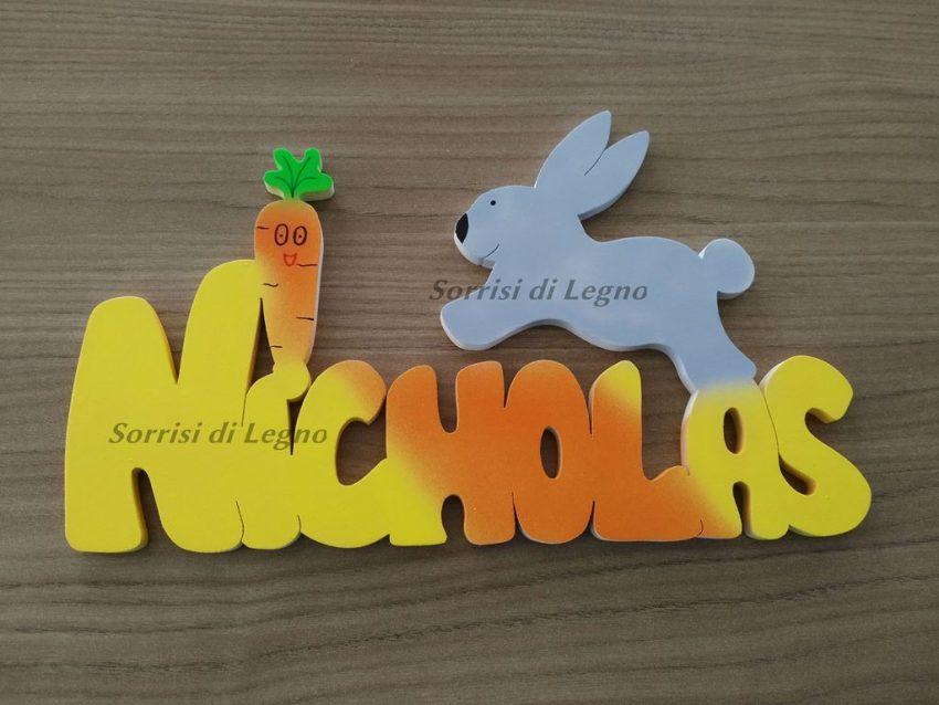 Nome-Nicholas-con-coniglietto