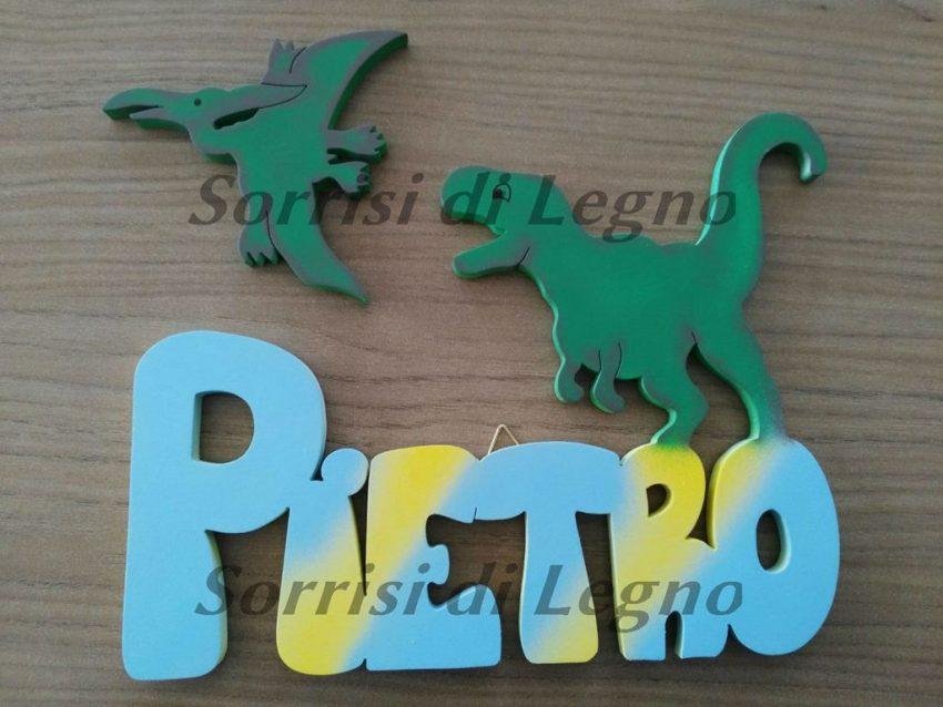 Nome-Pietro-con-T-Rex-e-Pterodattilo