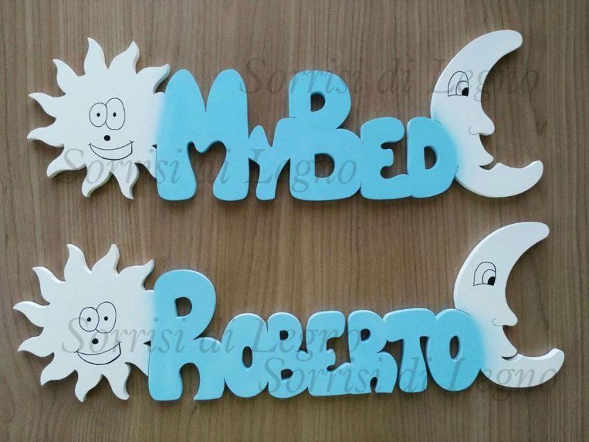 scritte-in-legno-per-cameretta-azzurro