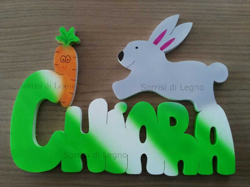 nome-Chiara-con-coniglio-e-carota