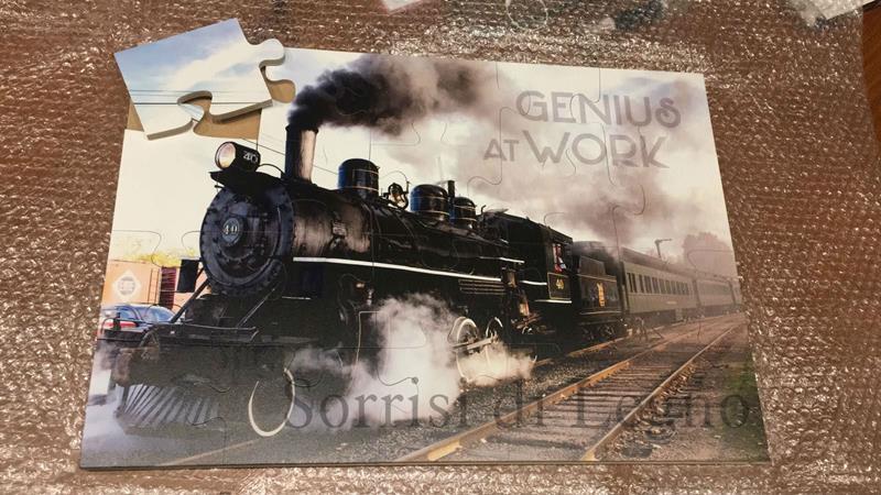 Foto puzzle su legno, stampa in digitale