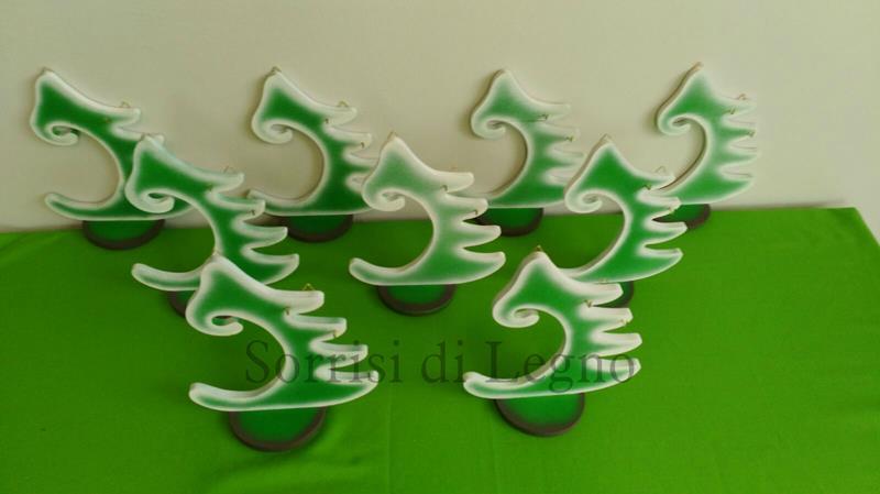 Alberi natalizi personalizzati